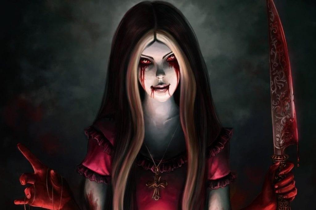 Maria sangrienta